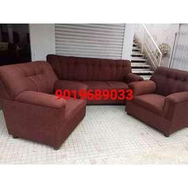 Passoniate new brand sofa set with warranty