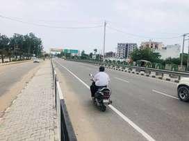 commercial plot fr dhaba/restaurant/hotel on 4 lane chandigarh highway