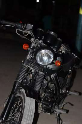 Hispeed infinity 150cc black