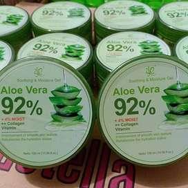 SYB soothing & moisture moisturizer gel Aloe Vera 92 Aloevera 100%ori