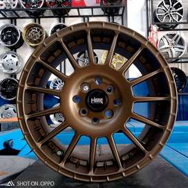 Velg Mobil Avanza Ring 15 Arrow Hsr Pcd 4x100/114,3 Bronze