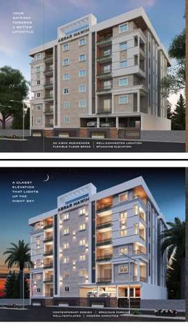 Luxurious 4BHK Flats For Sale At Tolichowki Seven Tombs Road