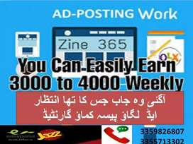 Inhouse work and earn