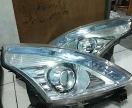 Headlamp lampu depan nissan teana 2012 model lensa