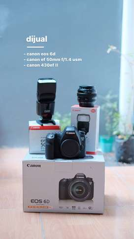 Canon eos 6d canon 50mm f1.4 usm canon speedlite 430ex II jogja