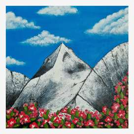 Mountain scenery Painting