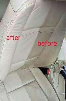 Pembersih kerak interior mobil