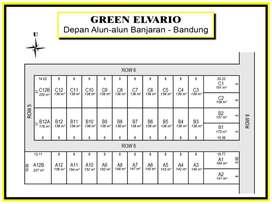 Tanah Perumahan Dekat Pasar Banjaran 12X Bayar Bunga 0%