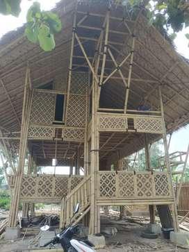 Rumah Bambu Paket