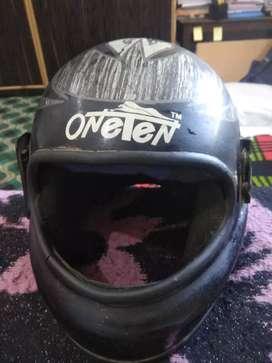 Black Colored Helmet.