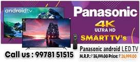 43'' 49'' 55'' PANASONIC SMART 4K LED TV   DHMAKA OFFER ..