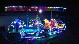 lampu hias selang full kereta panggung campu karakter odog2 AF