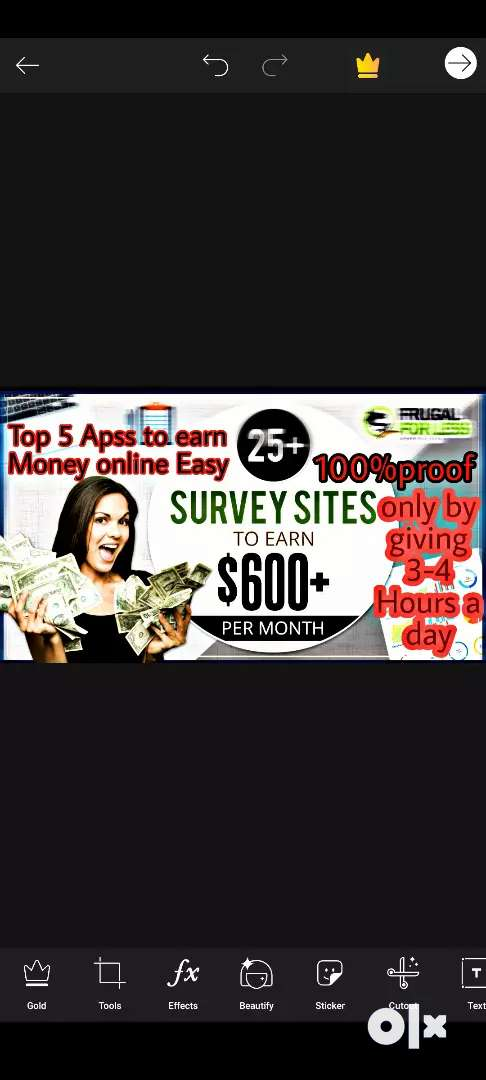 I will give you top 5 apps and top 3 website which make money for you. 0