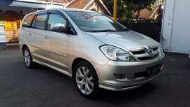 Toyota Kijang Innova Tipe V Luxury Matic At Captain Seat th 2008