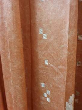 9 feet plated Hooked curtains