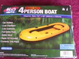 H2o 4 person inflatable Boat