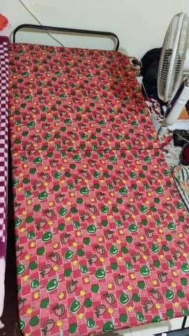 Urgent sale bed with mattress