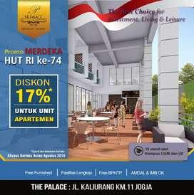 Bagimu Bengkulu!Investasi Dgn Hasil Maximal Ya di Apartemen The Palace