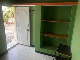 Single room with UPS .(semi-furnished)