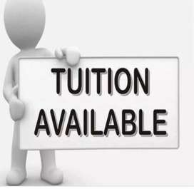 Tuition classes available