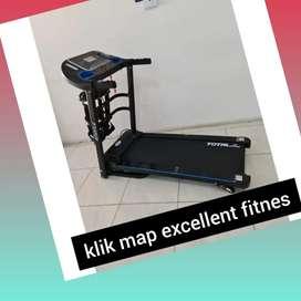 jual treadmill elektrik total TL-619 R-31 treadmil electric