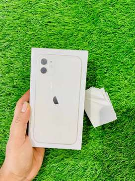 New - iPhone 11 - 64 GB - white - indian - 1 yr apple warranty