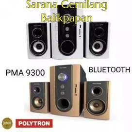 SPEAKER POLYTRON PMA 9300 [BLUETOOTH /AUX/USB/FM RADIO] (GARANSI RESMI