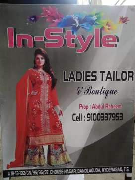 (in-style)Ladies Tailor and boutique