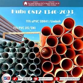 Pemasok Pipa HDPE,PPR,PVC SNI AW D,LIMBAH SDR41 Jawa Timur