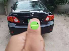 corolla 2010 for sale in good condition