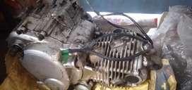 Bajaj pulsar 150 silver Gray engine good conditions