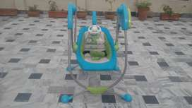 Baby swing Electric (Mama Love) and play mat