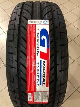 Promo Ban GT Radial 215/50 R17 Champiro GTX PRO
