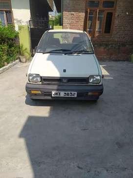 Maruti Suzuki 800 1987