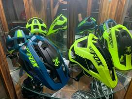 Helm sepeda mtb roadbike dan sepeda lipat merk fox