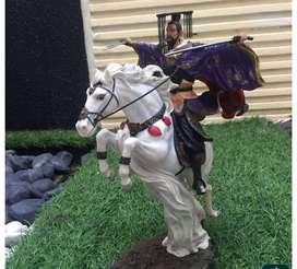 Chinese Figurine Warrior Liu Wei