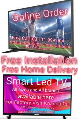 Led Smart Tv & All Electronics Home Appliances