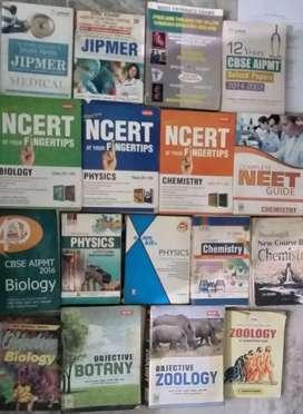NEET Entrance exam preparation All Books
