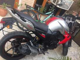 Yamaha fzs red silver 2010 model