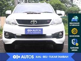 [OLX Autos] Toyota Fortuner VNT 2.5 G TRD Diesel Solar A/T 2014 Putih