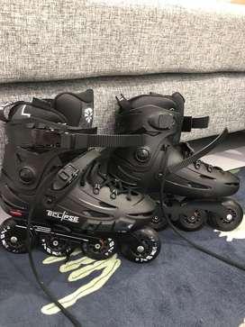 Sepatu Roda Flying Eagle Eclipse Size 41
