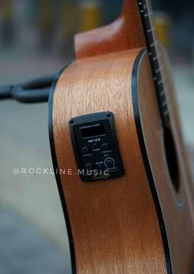 Gitar Akustik elektrik suara jozz