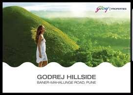 1/2/3 bhk  sale in Godrej Hillside at baner