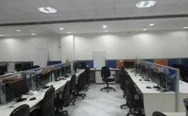 2000 sqft fully furnished office at  mg road