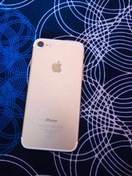 Iphone 7 (128gb) gold with box bill