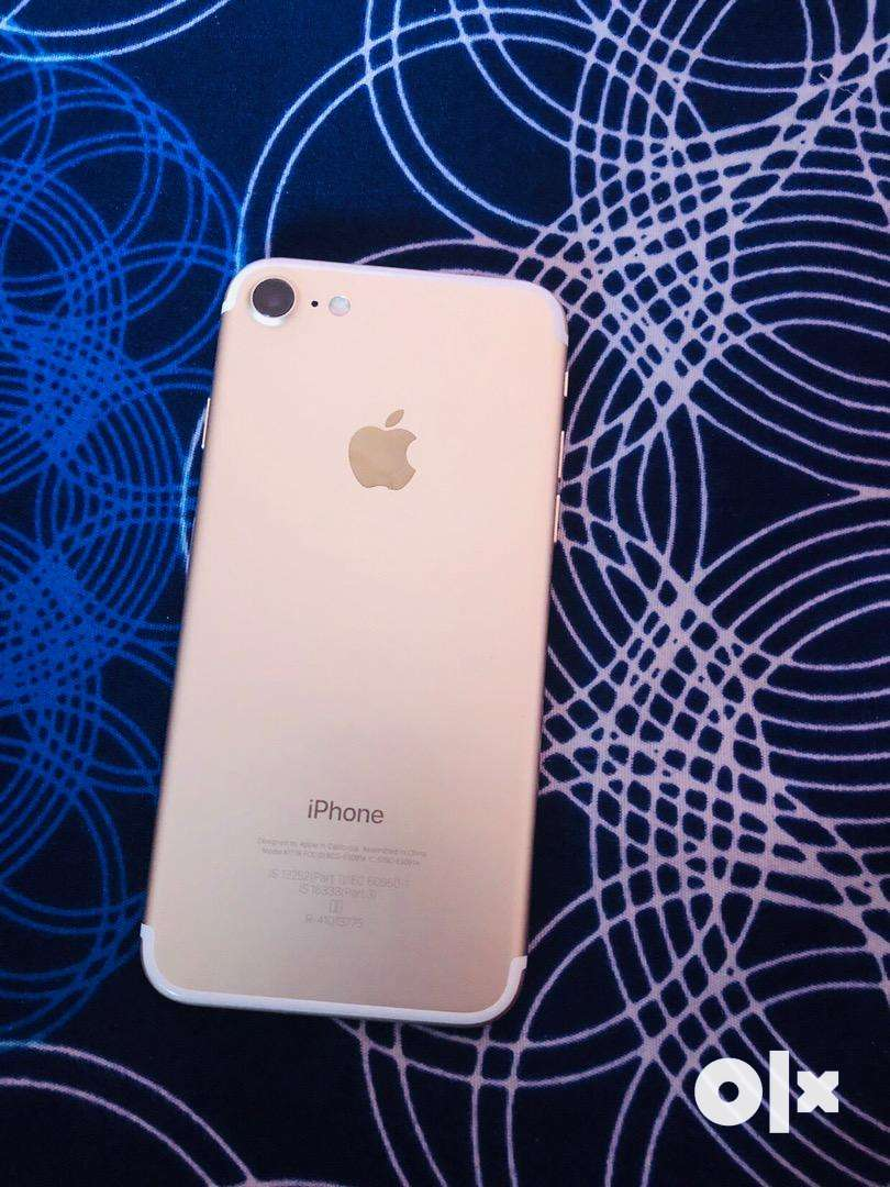 Iphone 7 (128gb) gold with box bill 0