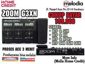 Promo Kredit Zoom G3XN Syarat KTP+SIM di Melodia Musik Surabaya
