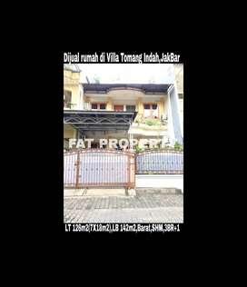 Dijual rumah di Villa Tomang Indah