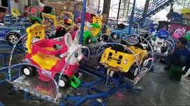 odong odong kereta panggung murah GAL singa genjot pony cyclee