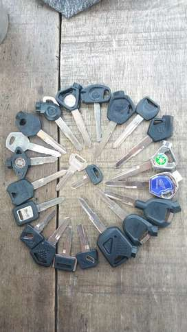 Menjual kunci berbagai merk/Reparasi kunci